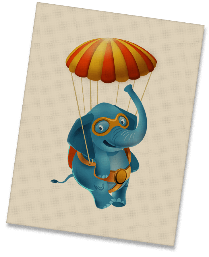 Work - The character - Elephant